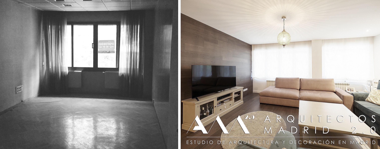 Reformas de viviendas en madrid antes y despu s for Vivienda y decoracion