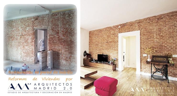 Reformas pisos antiguos madrid antes y despu s for Reformas de pisos antiguos