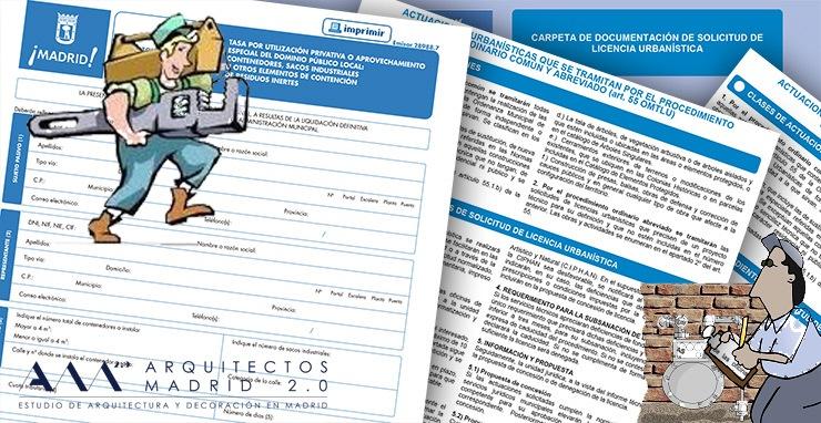 tramites y licencias reformas de viviendas madrid