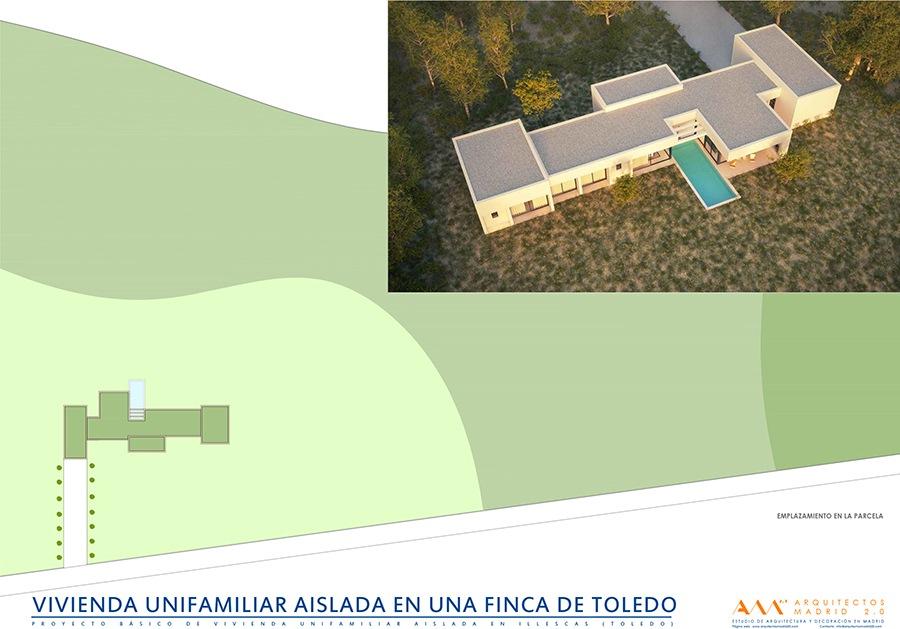 viviendas de diseno por arquitectos madrid - casa moderna en toledo 01