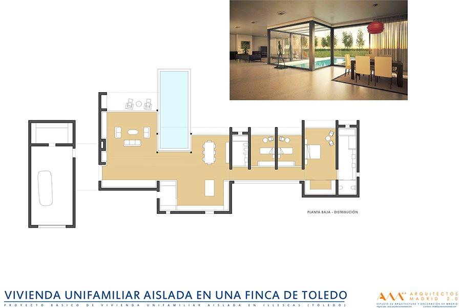 viviendas de diseno por arquitectos madrid - casa moderna en toledo 02