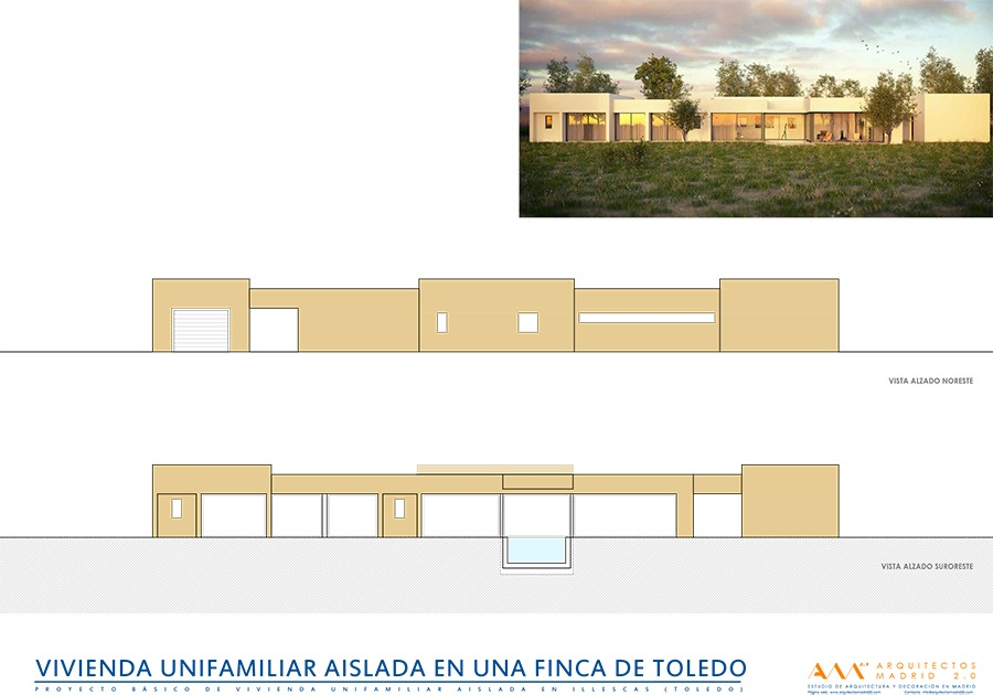 viviendas de diseno por arquitectos madrid - casa moderna en toledo 03