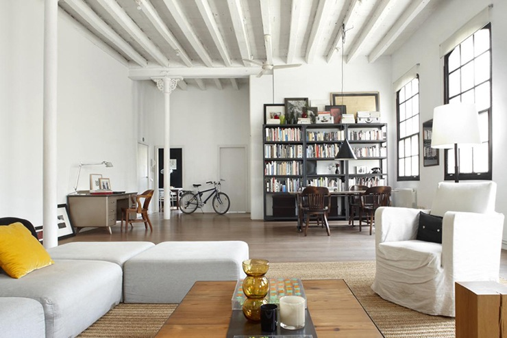 reforma de loft en madrid ideas lofts espacios abiertos. Black Bedroom Furniture Sets. Home Design Ideas