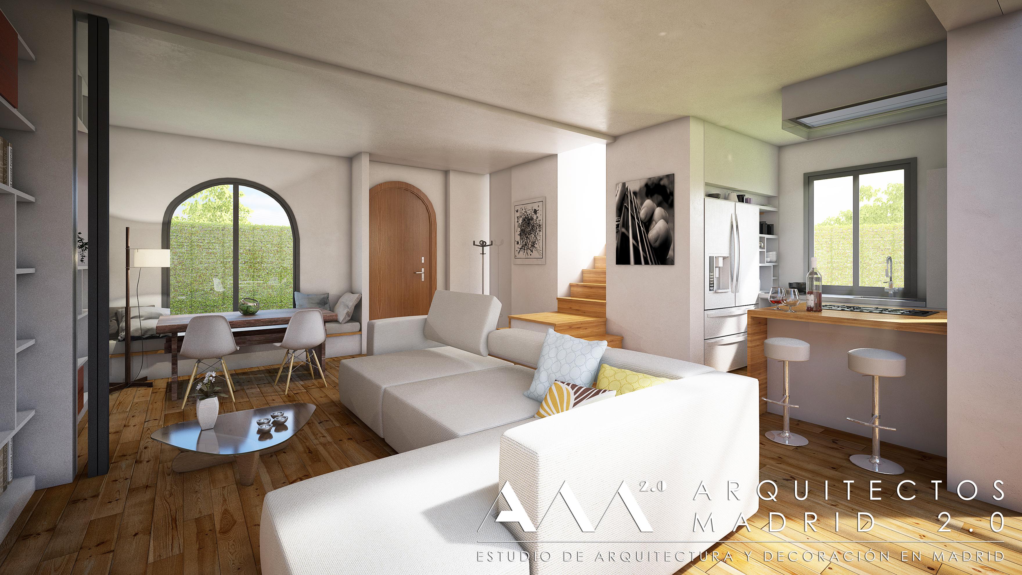 Proyecto reforma chalet archivos arquitectos madrid 2 0 - Arquitecto de interiores madrid ...